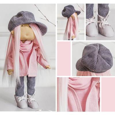 Изображение Мягкая кукла Брижит