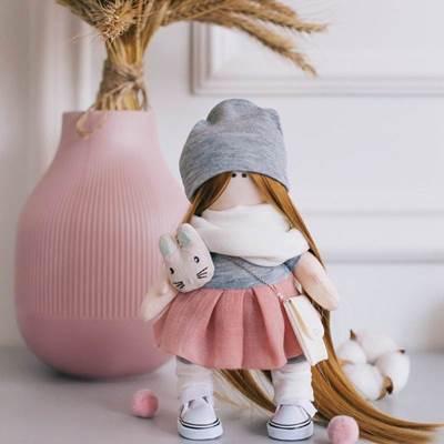 Изображение Мягкая кукла Милана