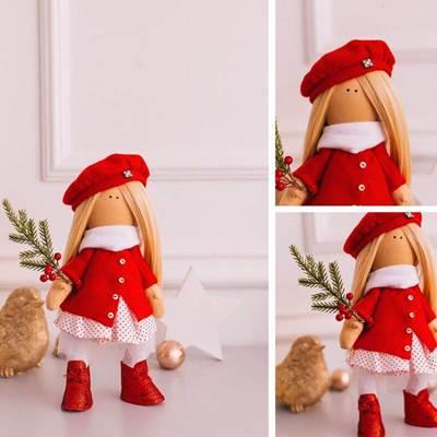 Изображение Мягкая кукла Лада