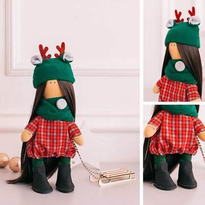 Изображение Мягкая кукла Шанти