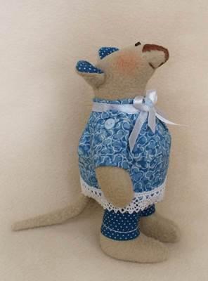 Изображение Mouse's Story Мышка флисовая