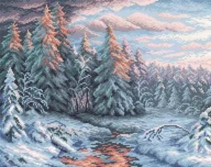 Изображение Зимний закат