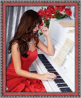 Изображение Пианистка