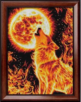 Изображение Огненный волк