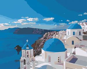 Изображение Вид на Санторини