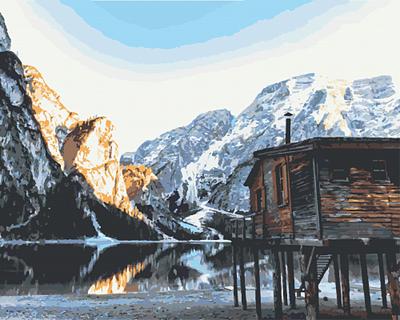 Изображение Рассвет в горах