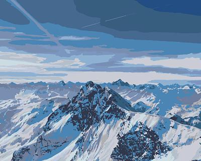 Изображение Снежные горы