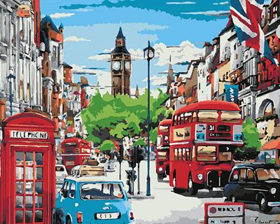 Изображение Красочный Лондон