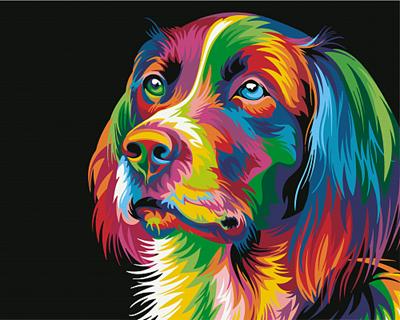 Изображение Радужный пес