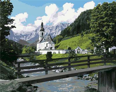Изображение Часовня у горного ручья