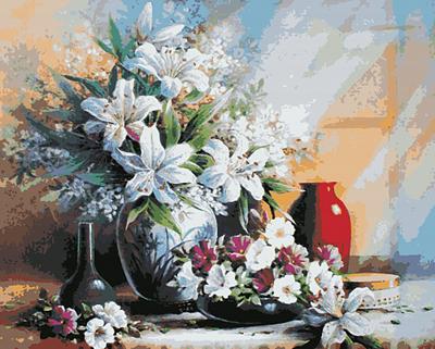 Изображение Лилии в вазе