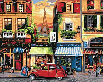 Изображение Улочка в Париже