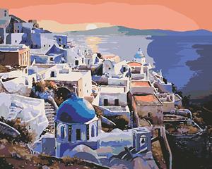 Изображение Греция на закате