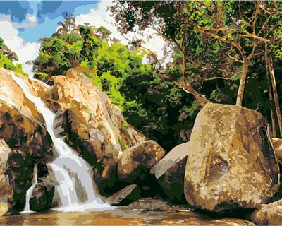 Изображение Водопад в Таиланде