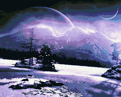 Изображение Зимняя ночь