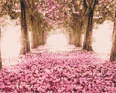 Изображение Розовая осень