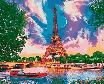 Изображение Луна в Париже