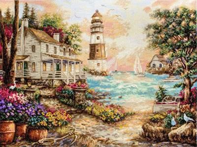 Изображение Коттедж у моря (Cottage by the sea)