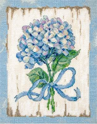 Изображение Голубые гортензии (BLUE II)