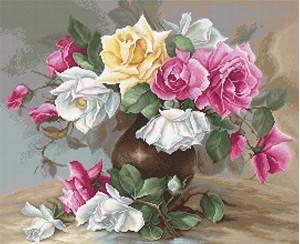 Изображение Ваза с розами