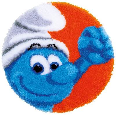 Изображение Смурфики. Силач (коврик) (The Smurfs Hefty)