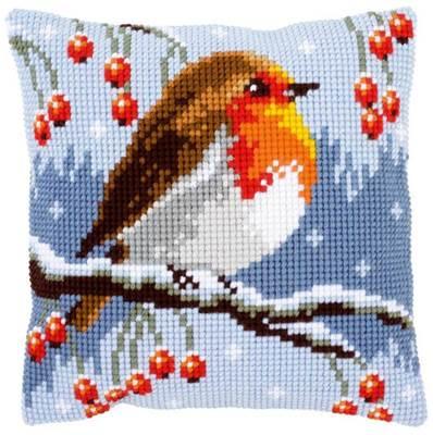 Изображение Красная зарянка (подушка) (Red Robin)