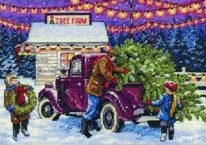 Изображение Новогодний ёлочный рынок