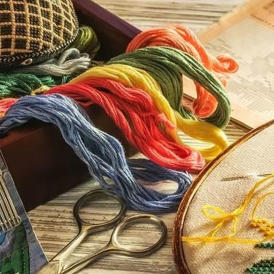 Изображение для категории Аксессуары для вышивания и творчества