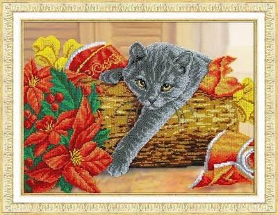 Изображение Рождественский котик