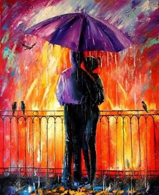 Изображение Цветной дождь