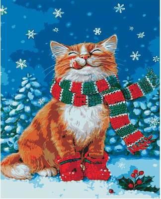 Изображение Счастливый котик