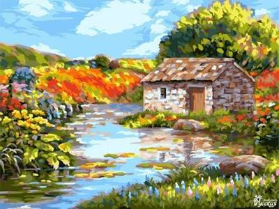 Изображение Живописная речка