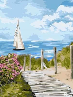 Изображение Дорога к морю