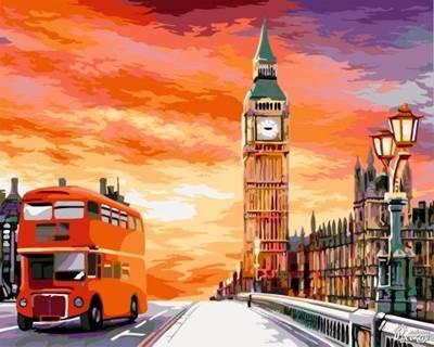 Изображение Лондонский закат