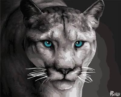 Изображение Львица на охоте