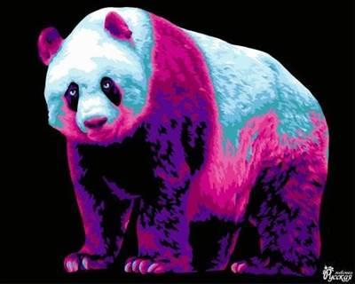 Изображение Неоновая панда