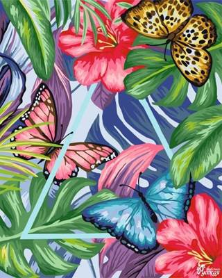 Изображение Тропическая композиция