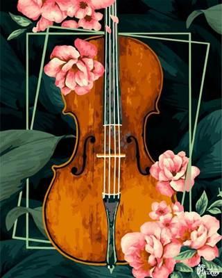 Изображение Винтажная скрипка