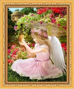 Изображение Ангел в саду
