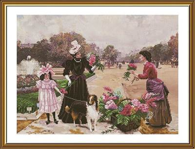 Изображение Семейная прогулка