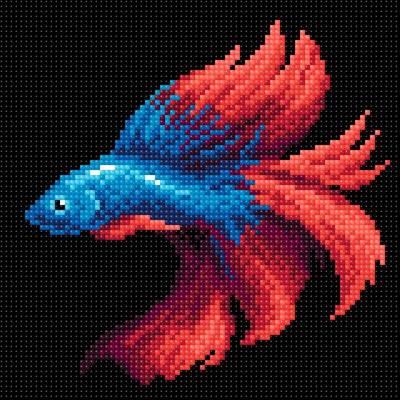 Изображение Рыбка красная