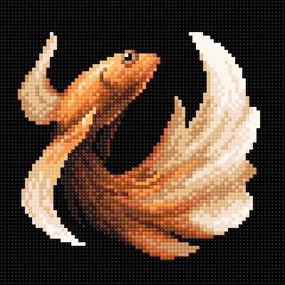 Изображение Рыбка золотая