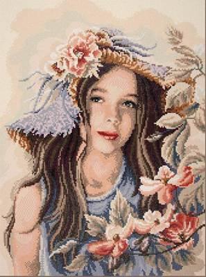 Изображение Маленькая девочка в шляпе