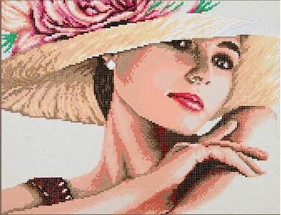 Изображение Леди в шляпе