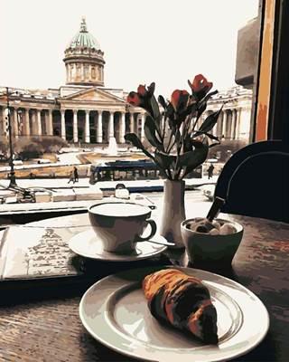 Изображение Утро в Санкт-Петербурге