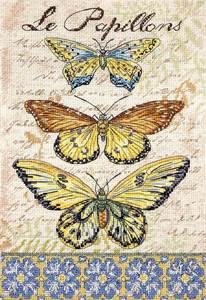 Изображение Бабочки (Vintage Wings-Le Papillons)