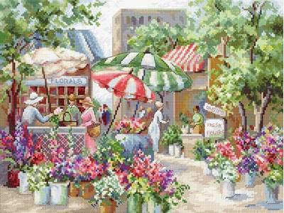 Изображение Цветочный рынок (Flower Market)
