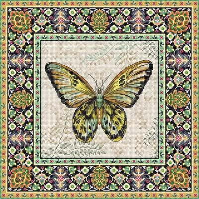 Изображение Винтажная бабочка (Vintage Butterfly)