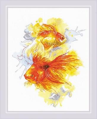 Изображение Золотые рыбки