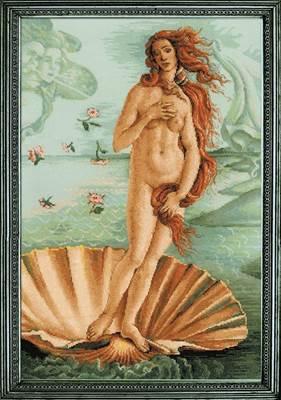 Изображение Рождение Венеры С. Боттичелли